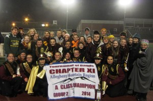 ECC Marching Band takes 1st Place at Chapter Championship