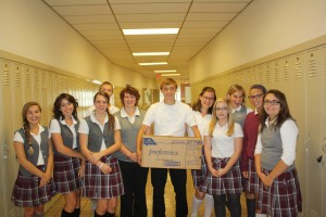 Indus-Sales donates to AP Environmental Science class