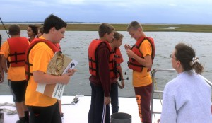 8th graders visit Wallops Island