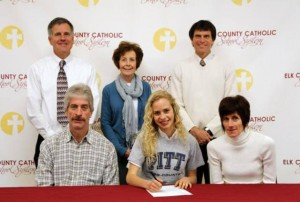 Tori Dippold signs Letter of Intent to attend University of Pittsburgh
