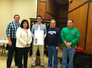"St. Marys Rotary Club ""Student of the Month"" from ECCHS"