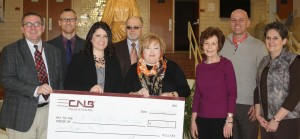 CNB Bank presents Star Foundation contribution to ECCSS