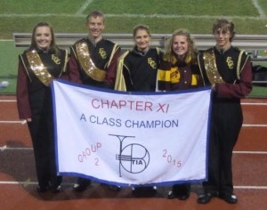 Congrats to our Marching Band!