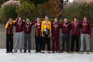 ECC boys' cross country team places sixth at states