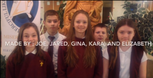 7th graders win 1st Place at Space Fair for Challenger space shuttle tribute video