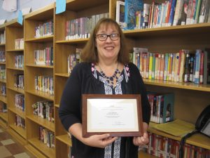 Mrs. Anderson honored by RIT