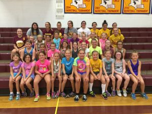 Little Spikers Volleyball Camp held