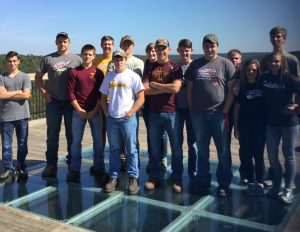 AP classes take field trip to Hexion Chemical Plant and Kinzua Bridge
