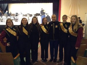 ECC band members participate in Army Field Band and Soldiers' Chorus Concert