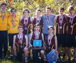 Boys cross country team takes second place at state meet