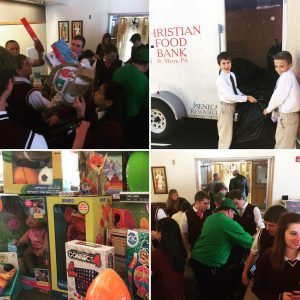 ECCSS holds toy collection for Project Gifts for Elk County