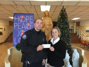 St. Marys Police Benevolent Association contributes to ECCSS scholarship fund