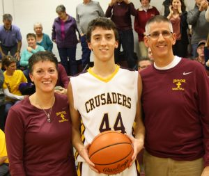 TBT: Crusader Basketball's Nate DaCanal scores 1,000th career point