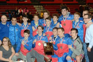 St. Marys Area wrestlers bring home District 4-9 AAA Tournament team title