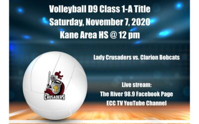 Crusader Volleyball vs. Clarion Bobcats in D9 Title